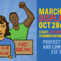 October 28th: March Against Displacement